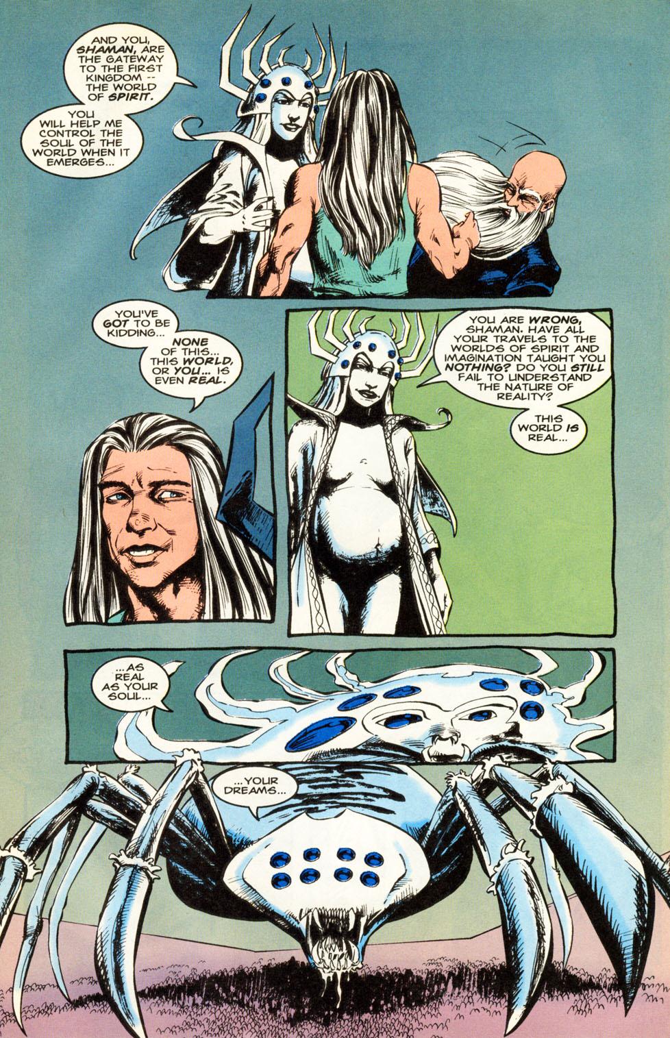 Read online Animal Man (1988) comic -  Issue #86 - 11