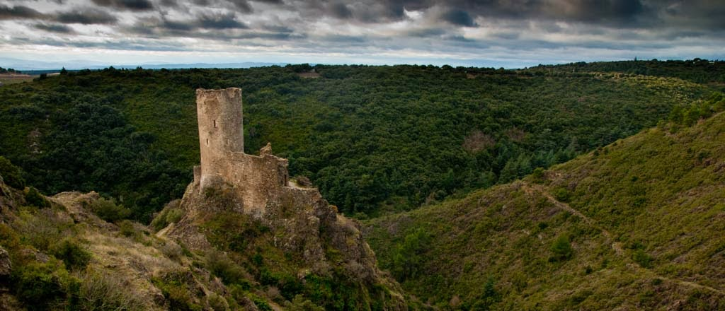 Foto de Los castillos de Lastours