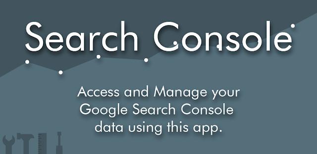 Google Search Console App