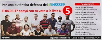 Resultado de imagen para Elecciones Insssep 4 de mayo