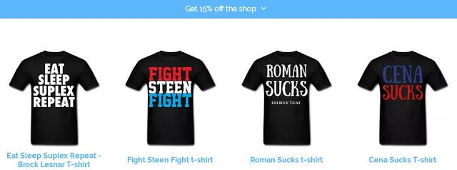 BodybuildingGymWear WWE Pro Wrestling T-Shirts