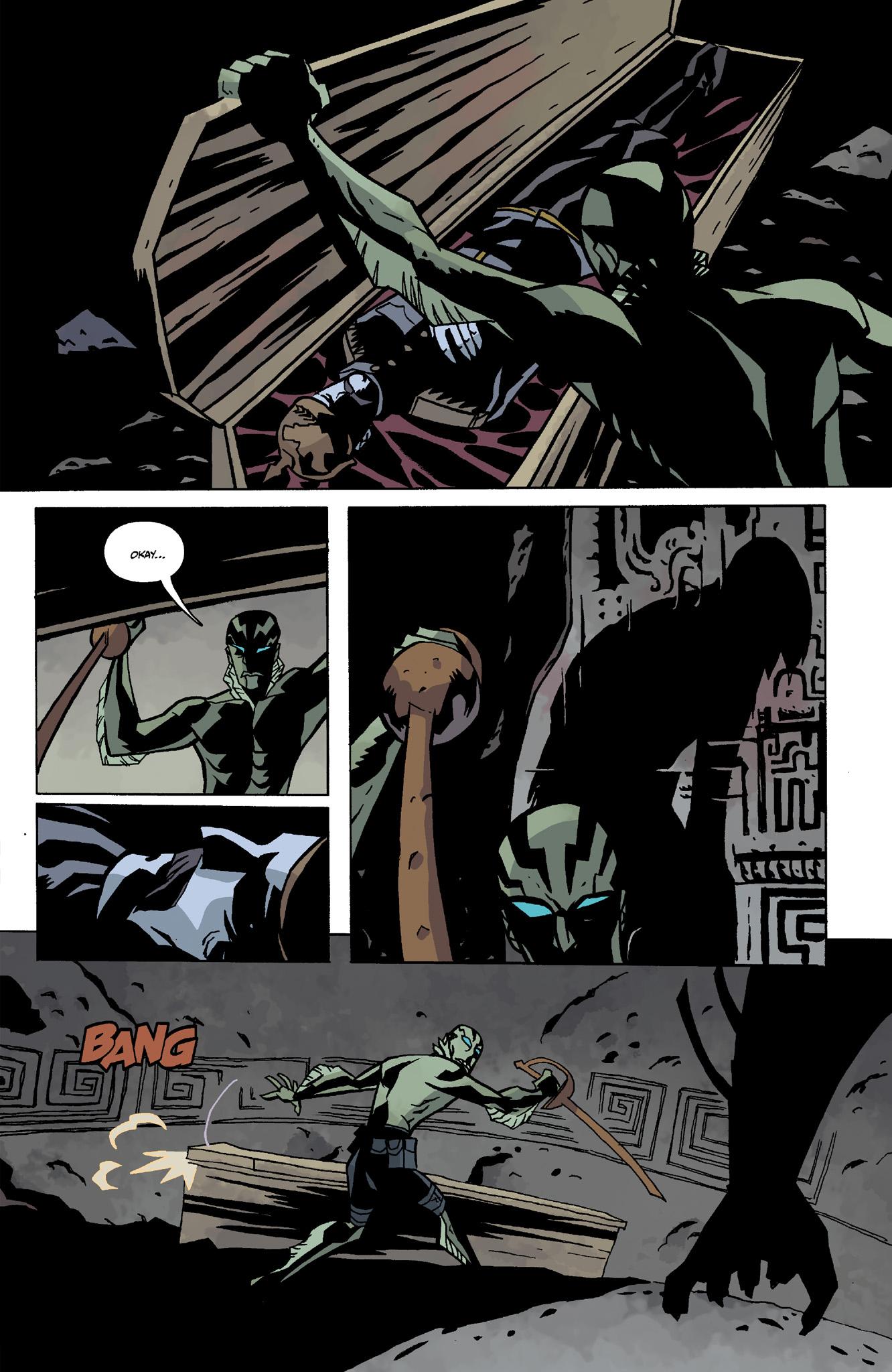 Read online Abe Sapien comic -  Issue #8 - 15