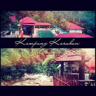 Jarak tempuhnya hanya 7 km dari pusat kota Sumedang ke arah selatan. Sebagian besar kawasannya masih alami akan Flora dan Fauna. Pilihan tempat vakansi yang sangat nyaman pun selekasnya diajukan bagi para turis lokal maupun asing untuk menghabiskan kualitas waktu mereka bersama teman, kerabat, maupun keluarga di Kampung Karuhun.