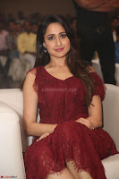 Pragya Jaiswal in Stunnign Deep neck Designer Maroon Dress at Nakshatram music launch ~ CelebesNext Celebrities Galleries 129.JPG