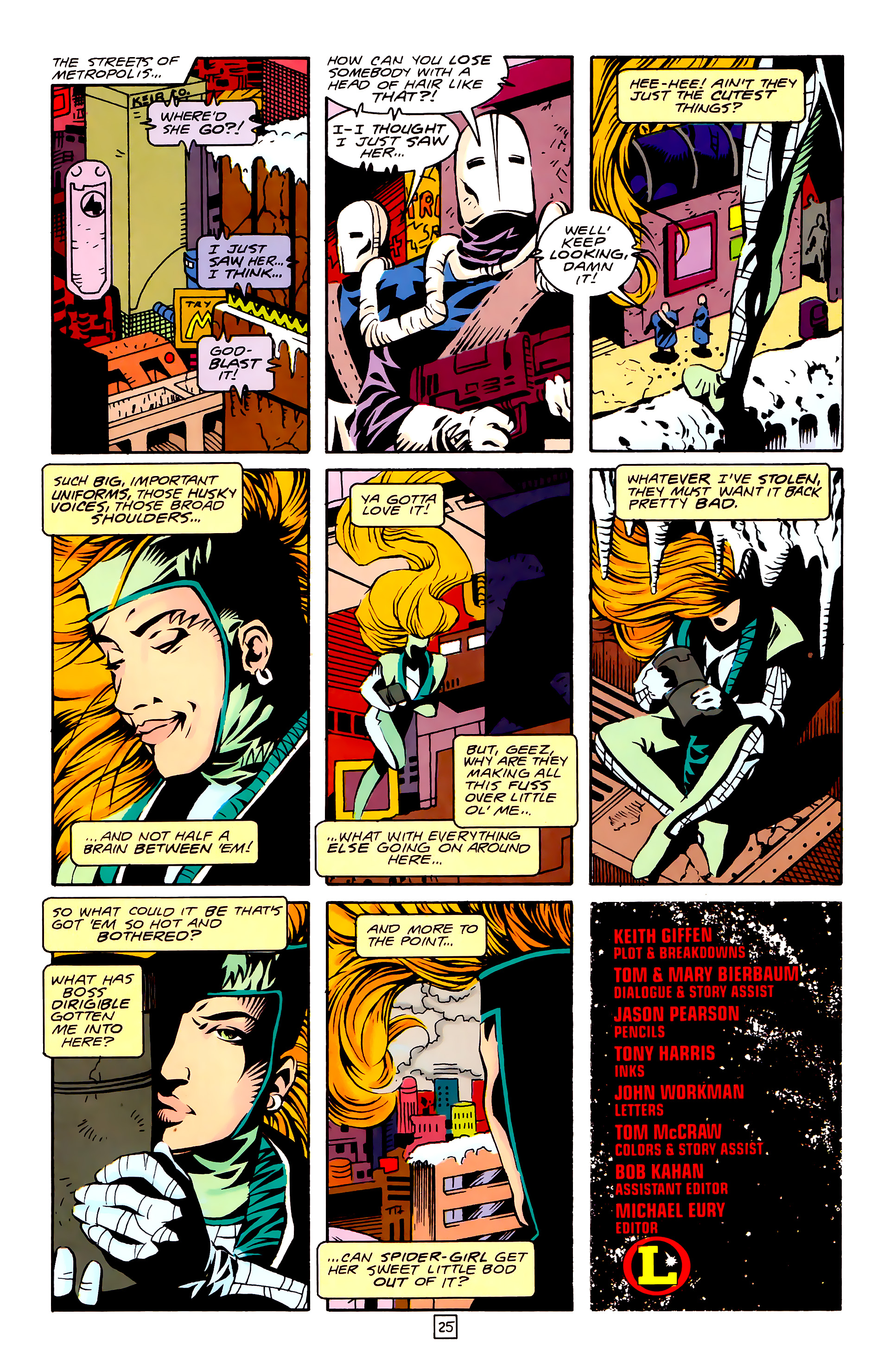 Legion of Super-Heroes (1989) 27 Page 25