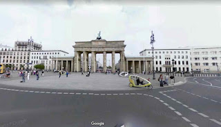 Brandenburg Gate is neoclassical monument in Berlin