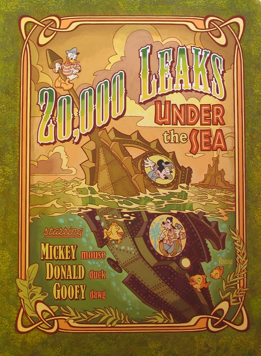 mike Peraza 20,000 Leaks Under The Sea Leagues Mechanical Kingdom Walt Disney World WDW DIsneyland