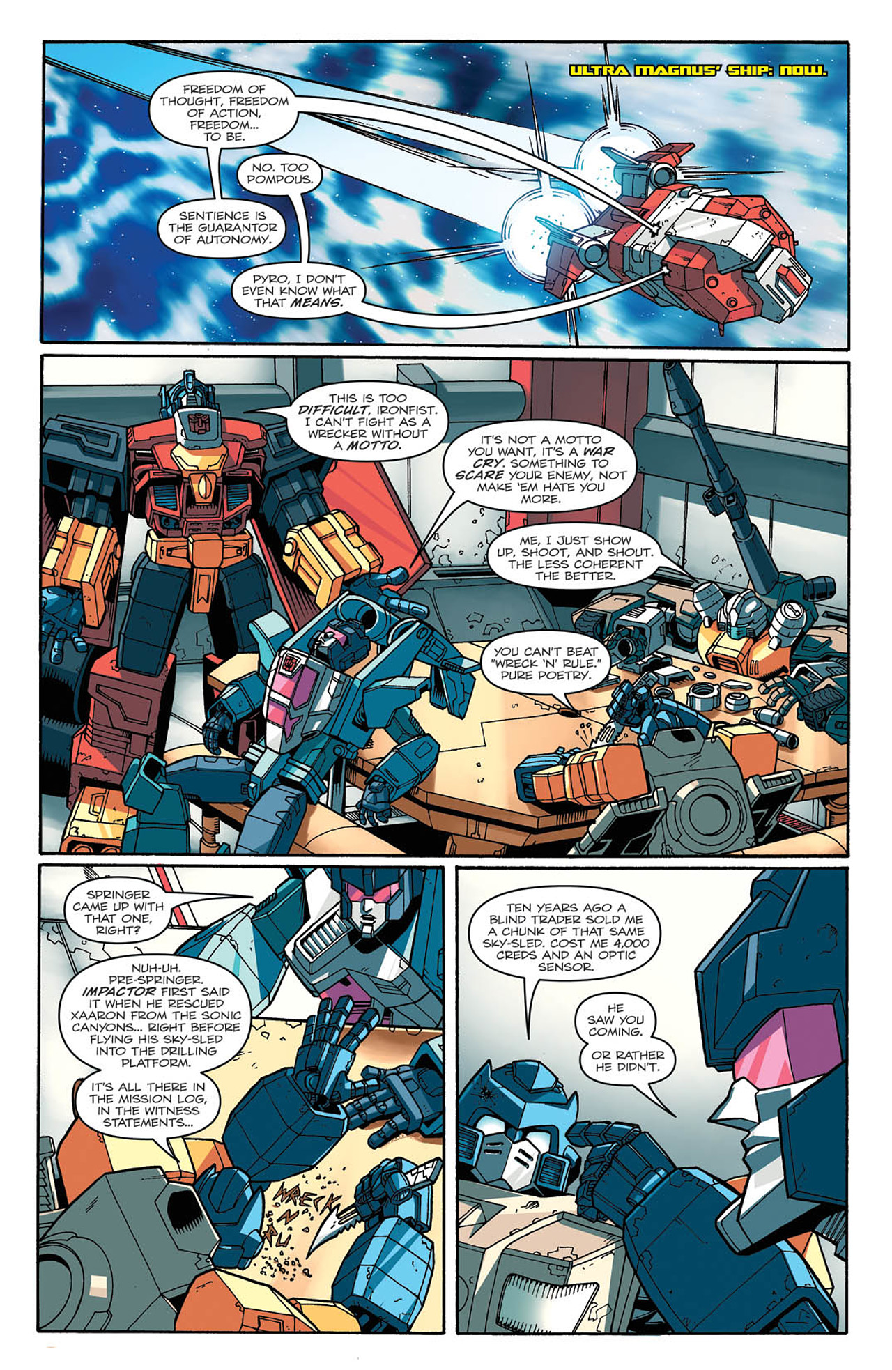 Read online Transformers: Last Stand of The Wreckers comic -  Issue #2 - 7