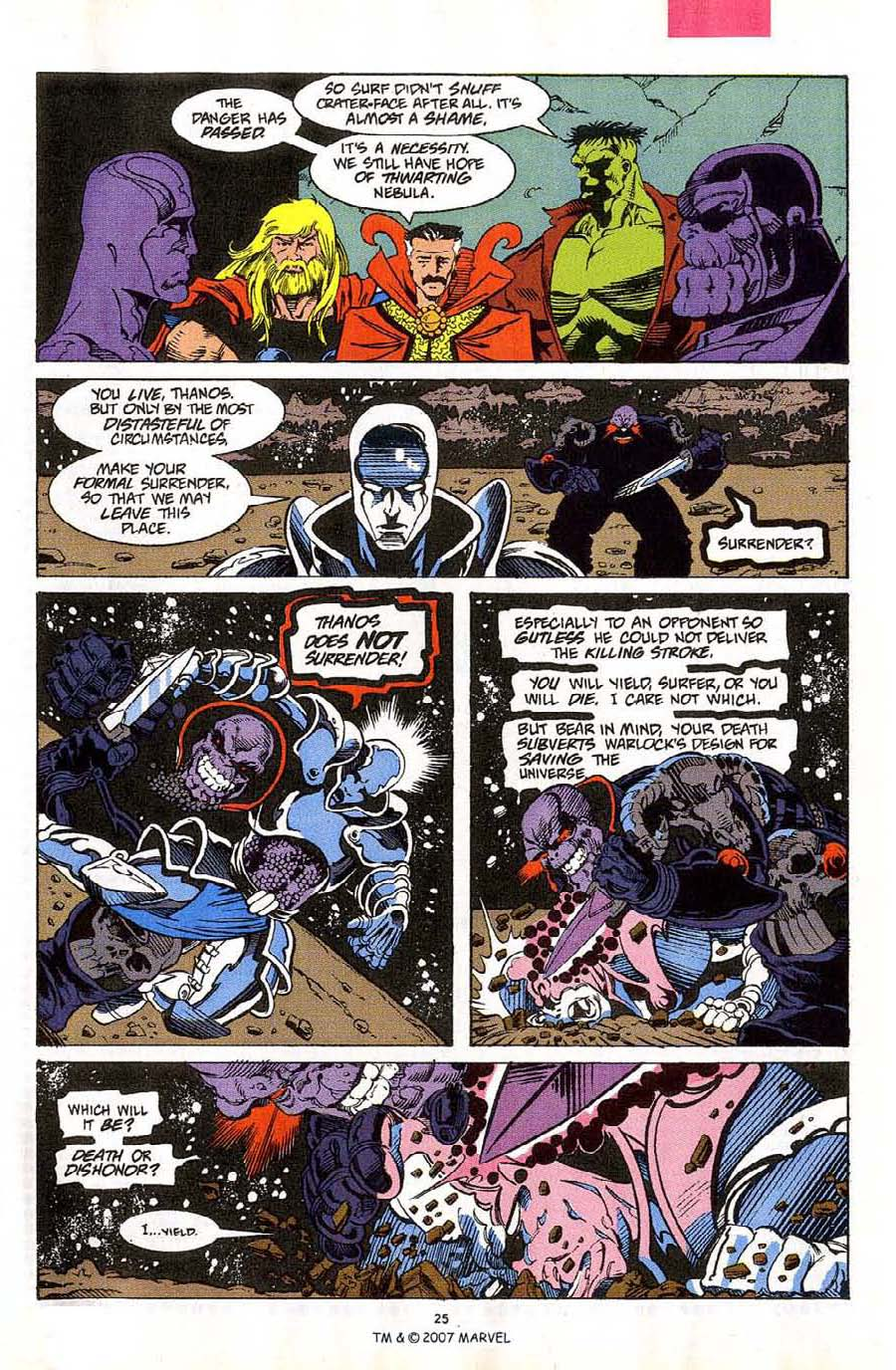 Read online Silver Surfer (1987) comic -  Issue #59 - 27