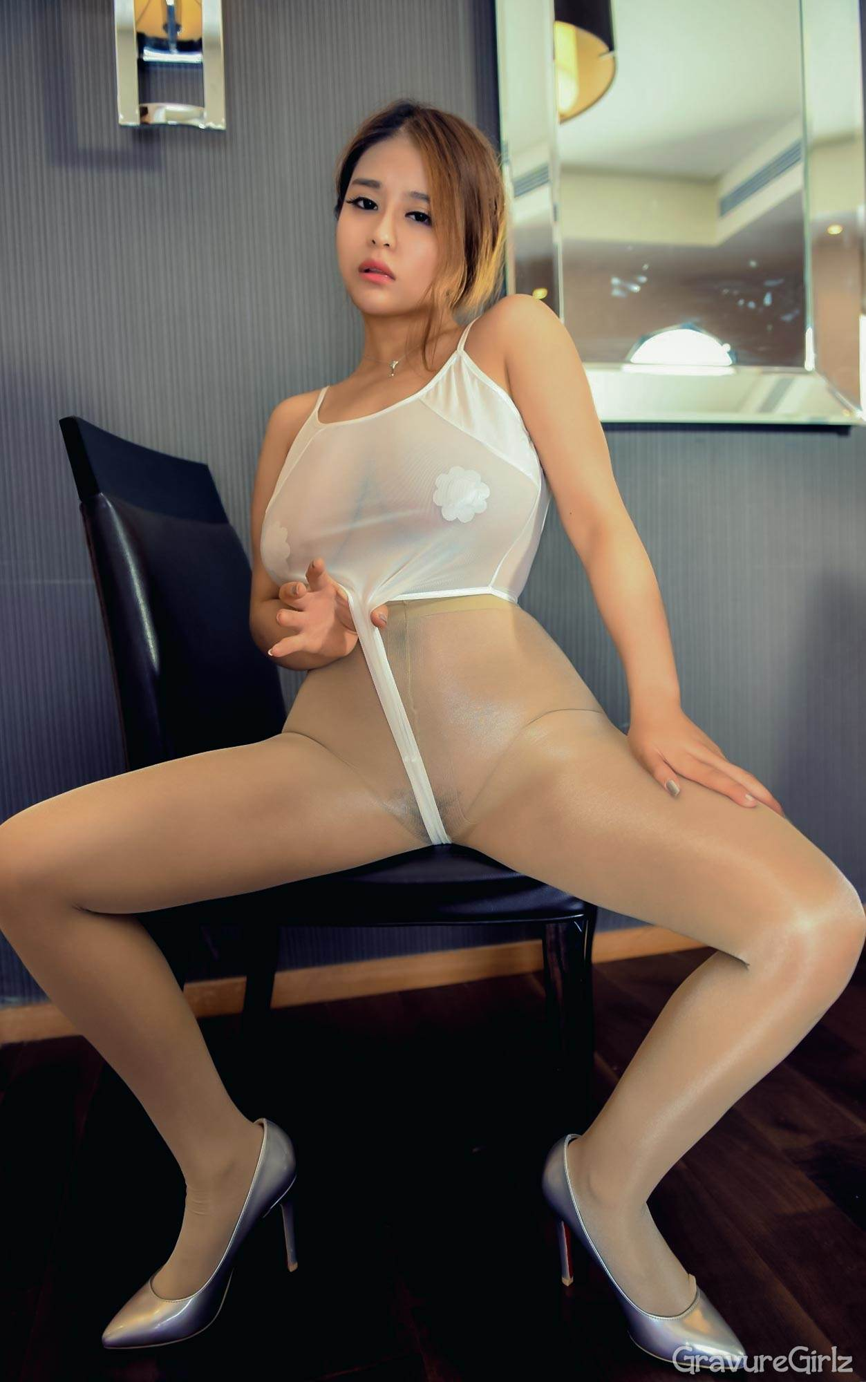 Wang Ying 王莹 DDY PantyHose   Thick Chinese Girl V1 ...