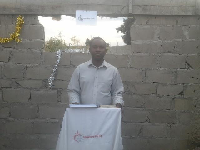Reverend Bangambiki Habyarimana Preaching