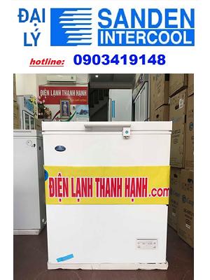 Tủ đông Sanden SNH-0155S model 2019