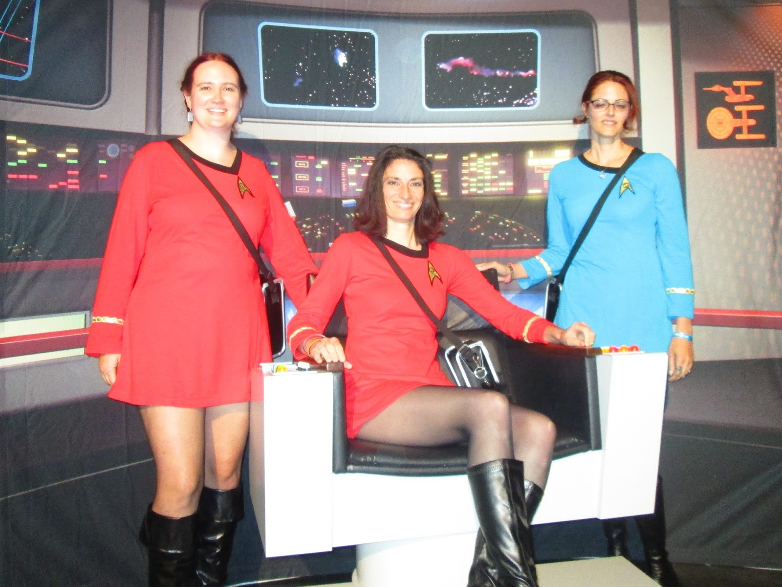 star trek captains chair lafuma pop up chairs hamlette's soliloquy: convention aar -- saturday