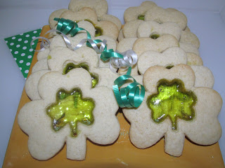 sugar cookies, glass candy