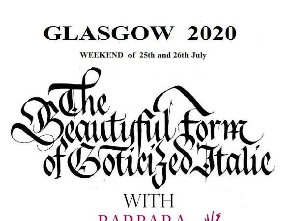 Barbara Calzolari workshop: Gothizied Italic
