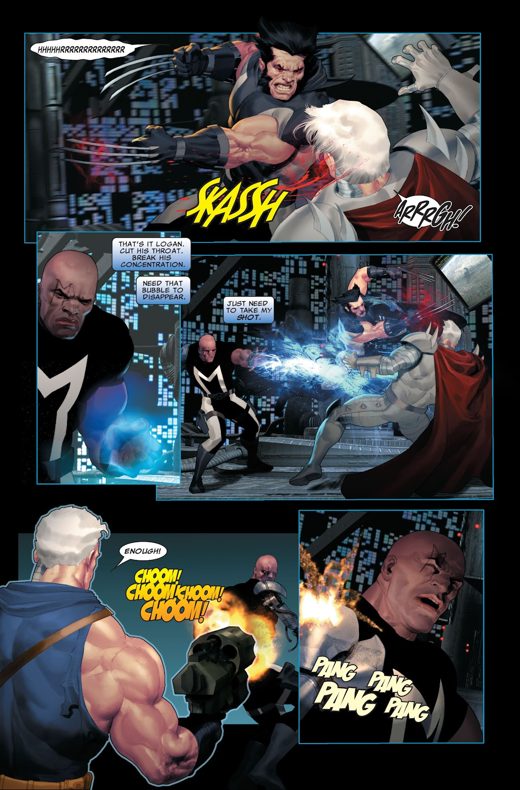Read online X-Force/Cable: Messiah War comic -  Issue # _TPB (Part 2) - 109