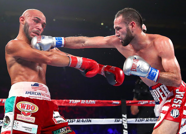 Jose Pedraza defeats Ray Beltran, Wins WBO lightweight title