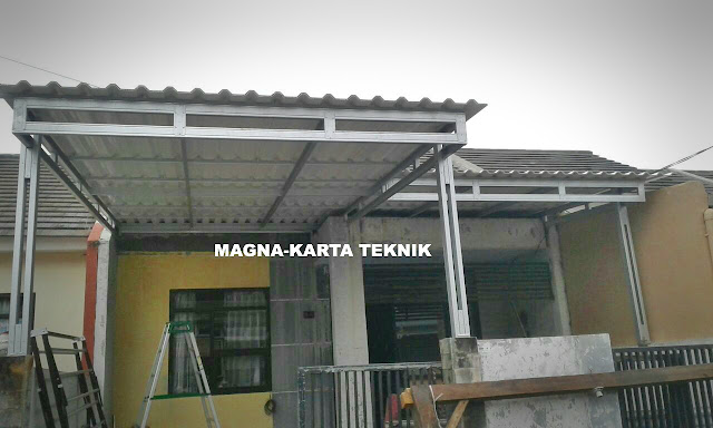 Jasa canopy Sidoarjo Surabaya terpercaya dan berkualitas
