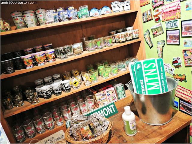 Artículos en la Tienda de la Cold Hollow Cider Mill en Vermont