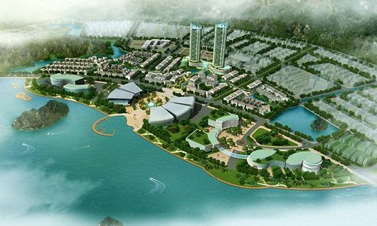 Khu đô thị mới phía đông Hòn Cặp Bè  - Hạ Long Central Plaza
