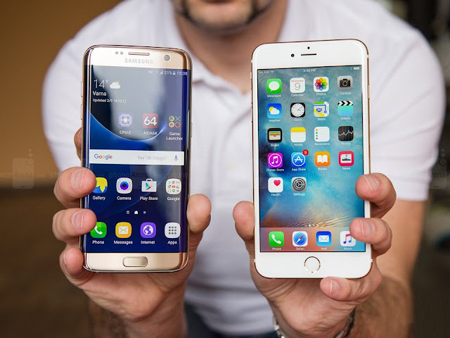 Samsung Galaxy S7 Edge vs iPhone 6S - S7 Fan Club