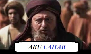 Abu Lahab Lengkap [Nama Asli, Istri dan Anak, Kejelekan, Kisah, Membunuh Nabi, Meninggal]