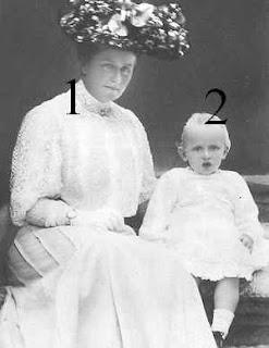 Caroline Mathilde zu Schleswig-Holstein-Sonderburg-Augustenburg 1860-1932, Johann Leopold de Saxe-Cobourg et Gotha