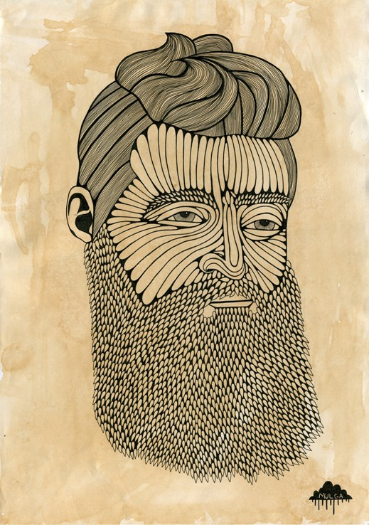 ned kelly was a hipster mulga the artist