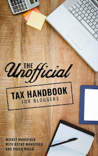 Unofficial tax book for bloggers