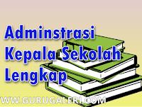 Download Contoh Format Administrasi Kepala Sekolah Terbaru