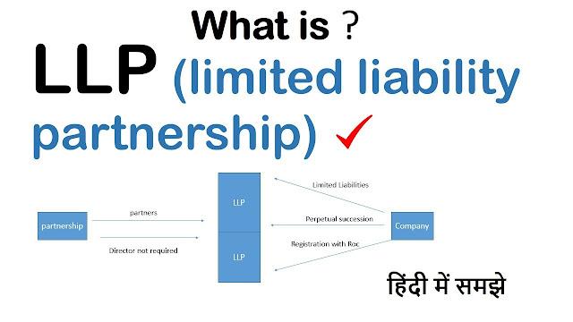 सीमित दायित्व भागीदारी संस्था  Limited Liability Partnership – LLP