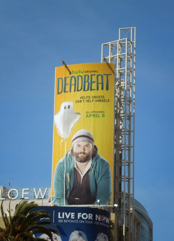 Deadbeat series premiere billboard