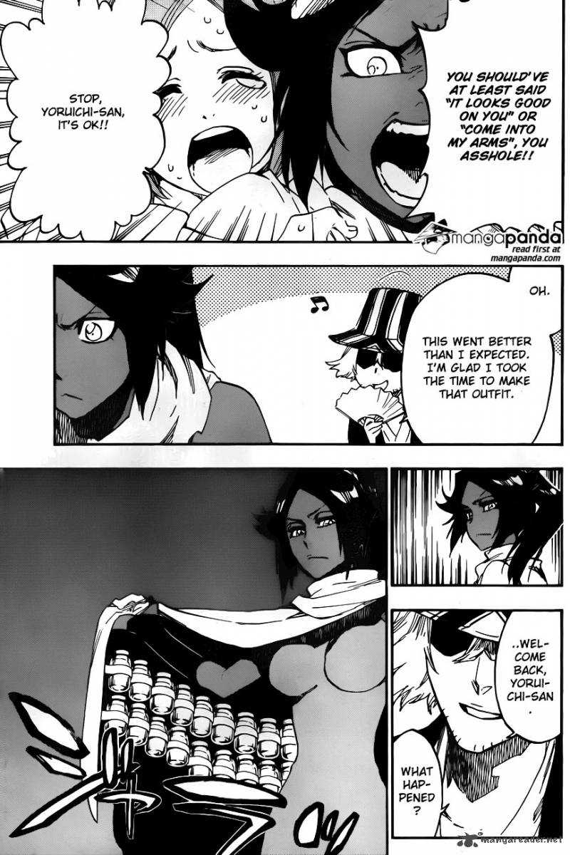 "Bleach Ch 589: - ""The Shooting Star Project"" [The Old and New Trust]"