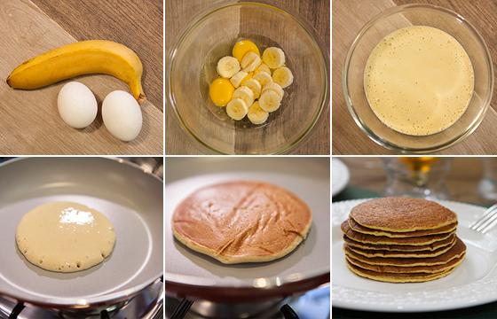 Panqueca de banana SEM FARINHA e com apenas 2 ingredientes
