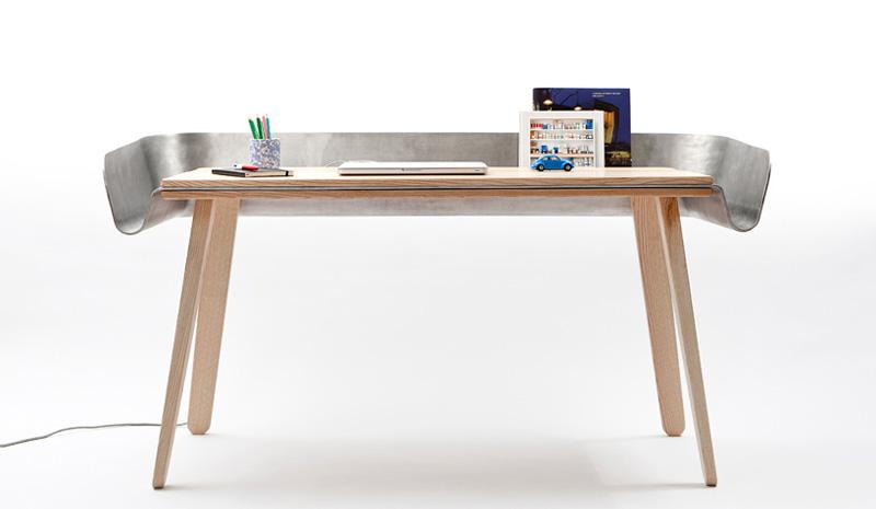 10 escritorios de dise o para cambiar el look a tu estudio On mesas para estudio de diseño