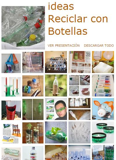 manualidades con botellas de plastico, reciclar,