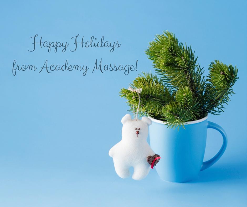 Academy Massage Blog: This Holiday Season, Give The Gift
