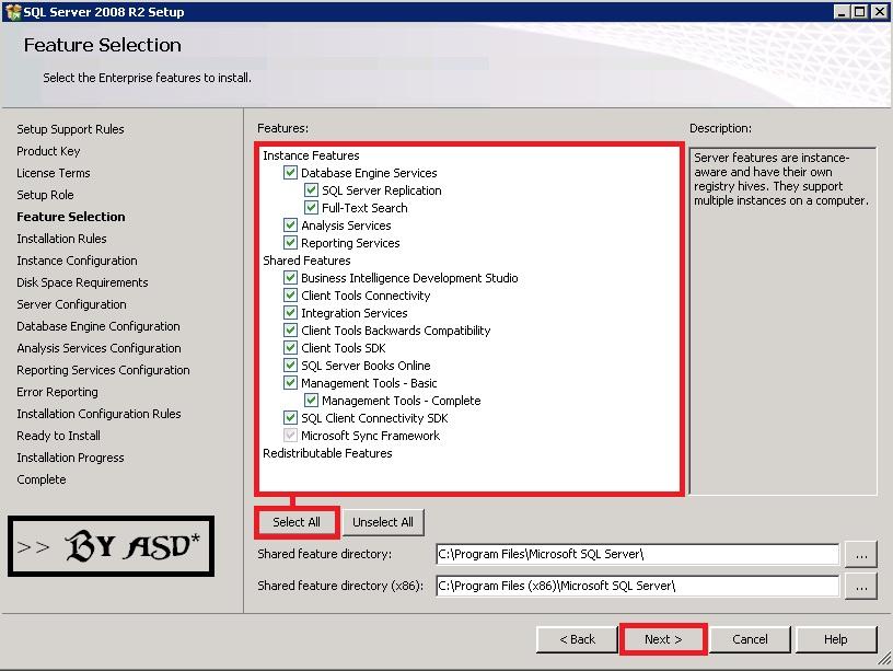 Caracteristicas del SQL