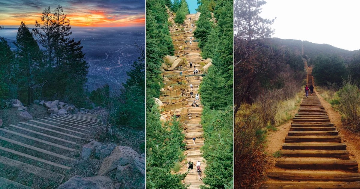 The Phenomenal 2,744 Step Staircase In Colorado That Poses A True Challenge For Hikers