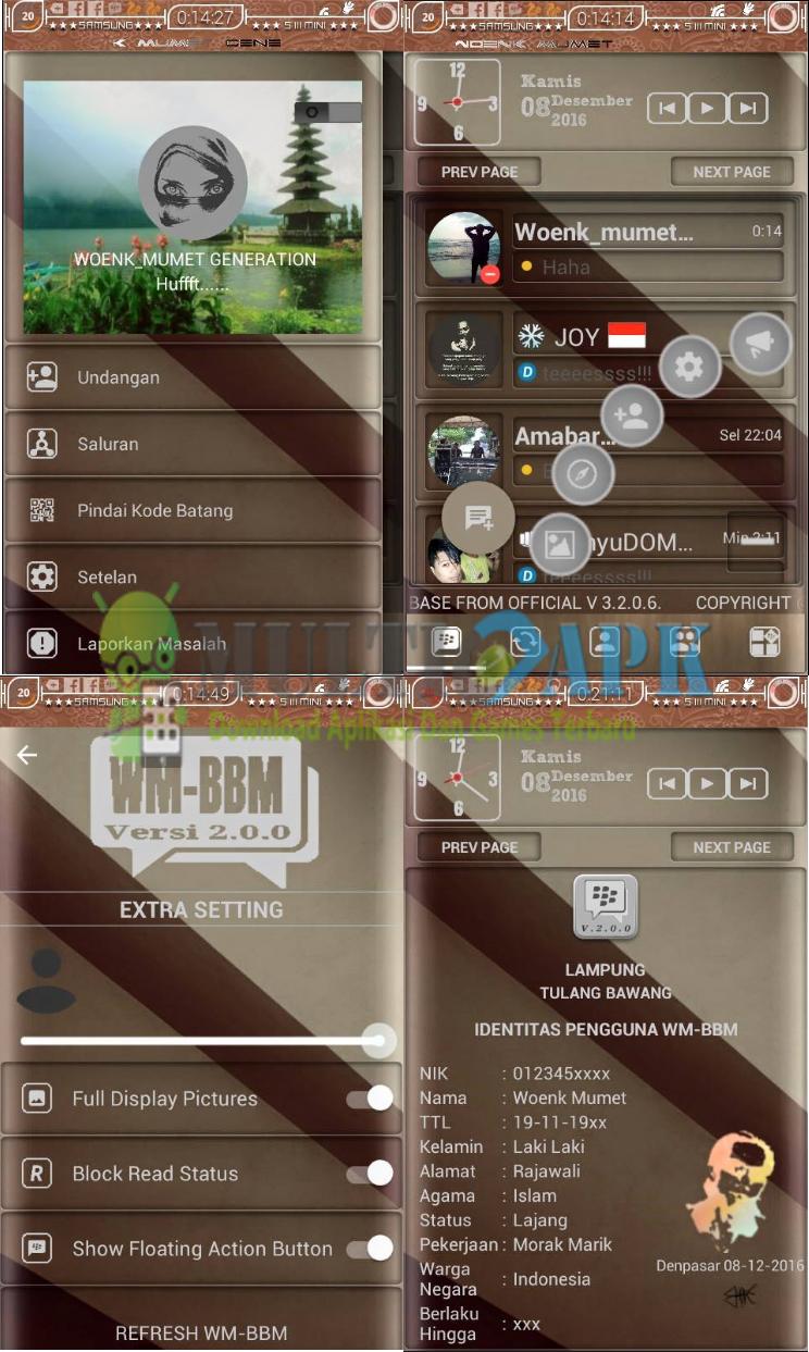 Download BBM Mod Manual Ala WM v3.3.3.39 Apk Terbaru