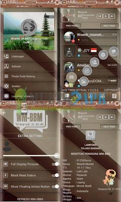 BBM Mod Manual Ala WM v3.2.0.6 Apk Terbaru
