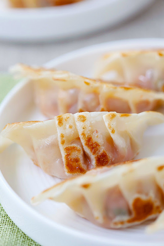 Pork and Shiitake Gyoza