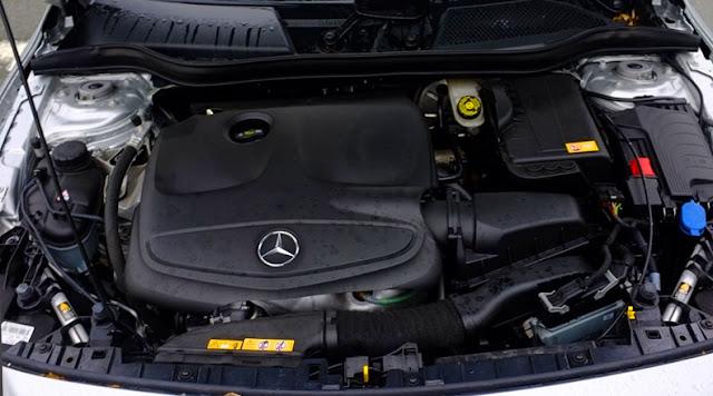 Động cơ Mercedes GLA 200 2019 vận hành mạnh mẽ và vượt trội