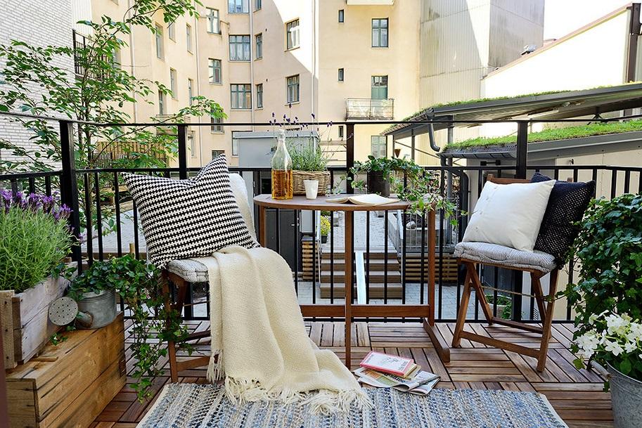 Ev dekorasyon hob d mekanlarda hal ve kilimler - Alfombras para terrazas ...