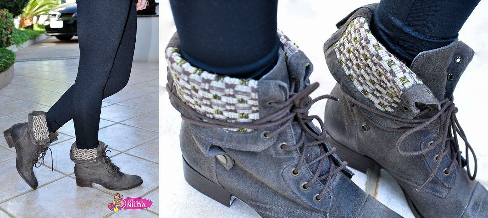 d71d00f2843 Esse modelo de bota - cano curto está bem aceito pelas meninas