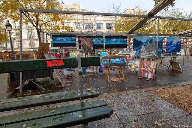 Marché de la création Bastille-Parigi