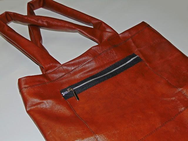 jak uszyć torbę z ekoskóry