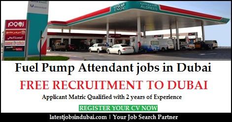 Fuel Pump Attendant jobs in Dubai