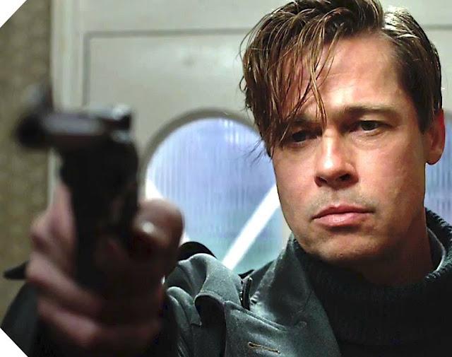 Brad Pitt dans Alliés, de Robert Zemeckis (2016)