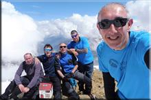 Aspe mendiaren gailurra 2.640 m. - 2018ko maiatzaren 19an